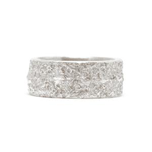 Wabi Sabi Frast silver ring