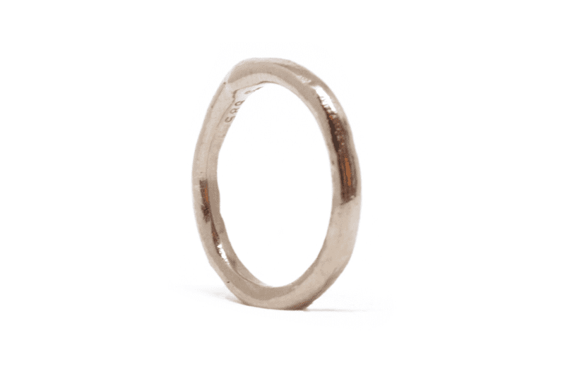 Wabi Sabi Mingle ring in gold