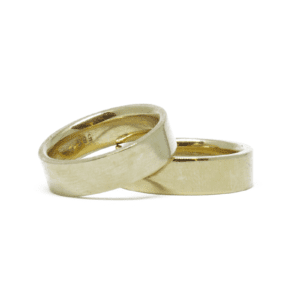 Wabi Sabi wedding ring