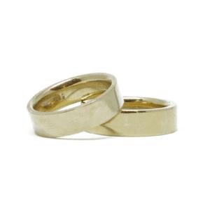 Wabi Sabi wedding ring