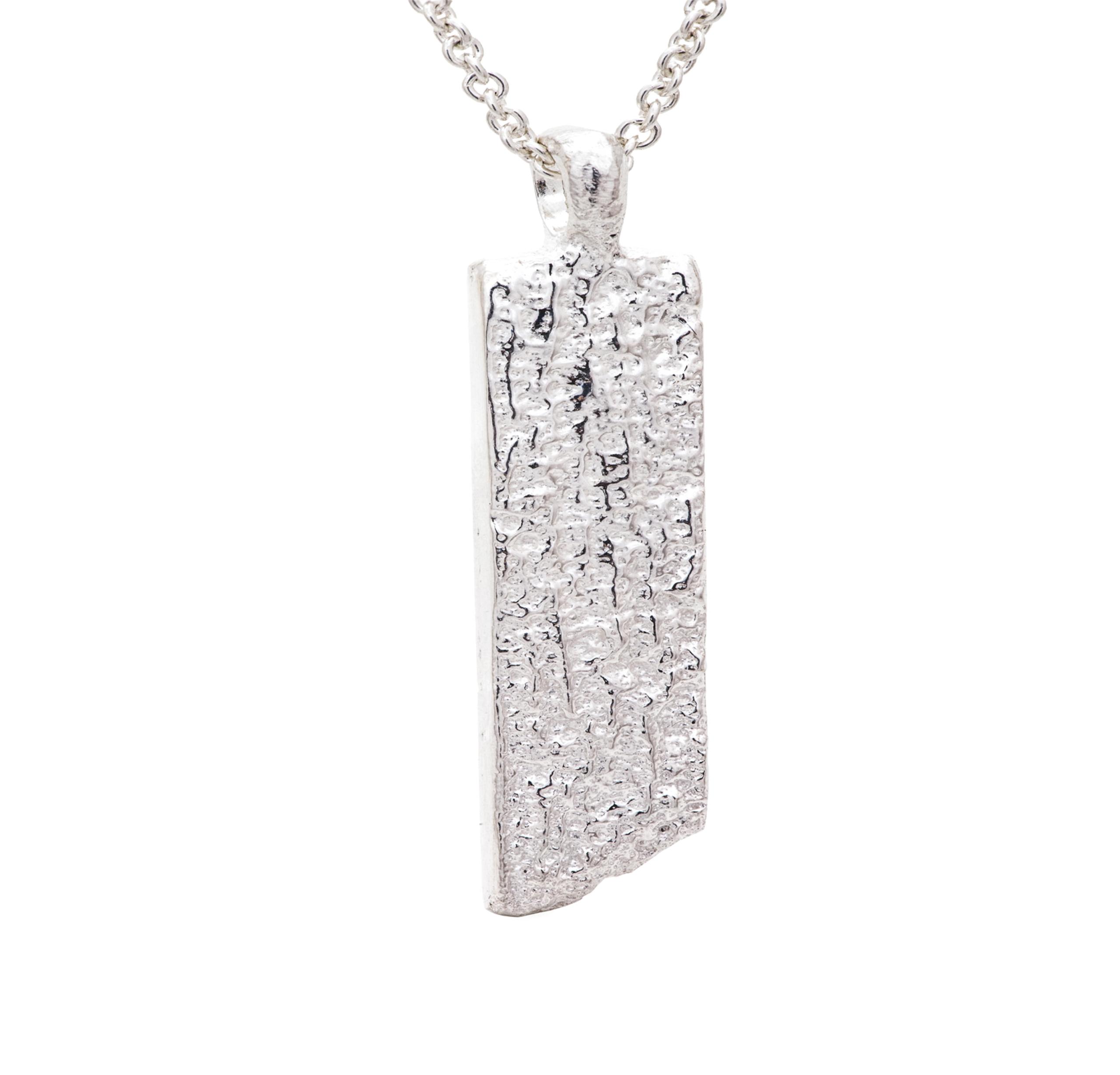 Pendant in silver