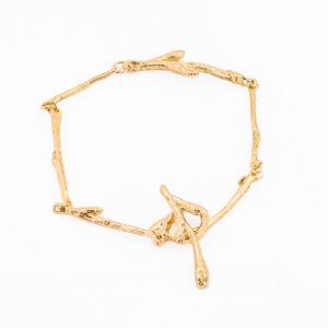 Wabi Sabi Jewellery, bracelet in gold