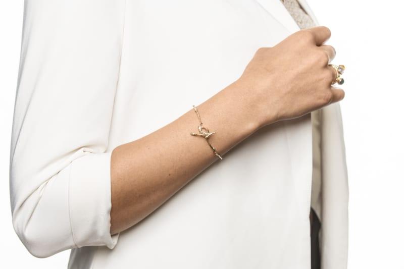 Vår bracelet in gold from Wabi Sabi